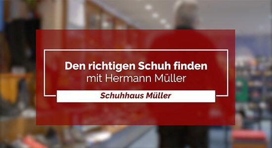 Schuhhaus Müller - Den richtigen Schuh finden