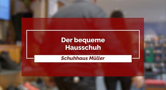 Schuhhaus Müller - der bequeme Hausschuh
