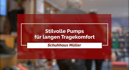 Schuhhaus Müller - Stilvolle Pumps